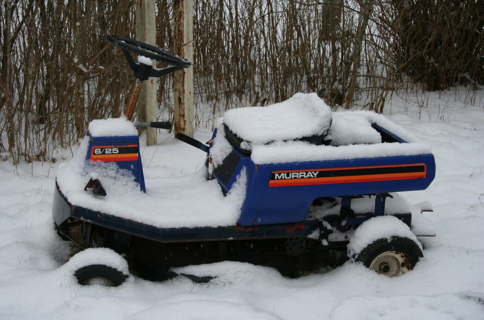 get your lawn mower ready for winter